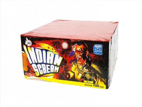 Indian scream 100 ran / 25 mm